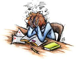 Stressed out student